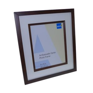 Ambassador Dark Oak Wood 10x8 Photo Frame