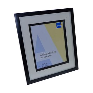 Ambassador Black Wood 12x8 Photo Frame