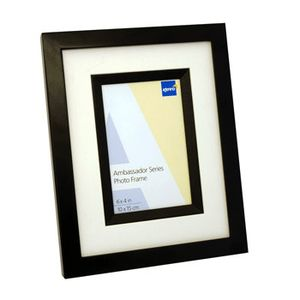 Ambassador Black Wood 6x4 Photo Frame