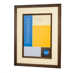Ambassador Dark Oak Wood 6x4 Photo Frame