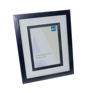 Ambassador Black Wood 7x5 Photo Frame