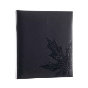 Autumn Leaf Grey 7x5 Slip In Photo Album - 200 Photos