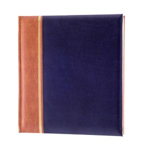 Grace Blue Traditional Photo Album - 100 Sides