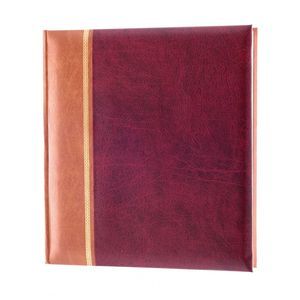 Grace Burgundy Traditional Photo Album - 100 Sides