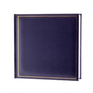 Grafton Blue 6x4 Slip In Photo Album - 200 Photos