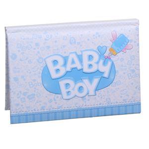 Baby Boy Blue Slip In 6x4 Photo Album - 10 Photos
