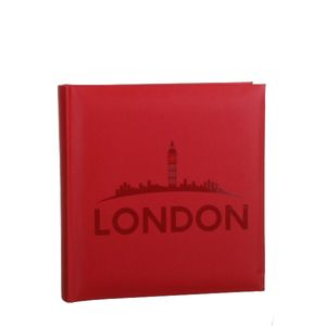London Montage Traditional Photo Album - 100 Sides