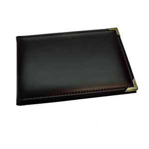 Leatherette Burgundy Mini 6x4 Slip In Photo Album - 36 Photos