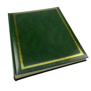 Sonata Green Self Adhesive Photo Album - 50 Sides