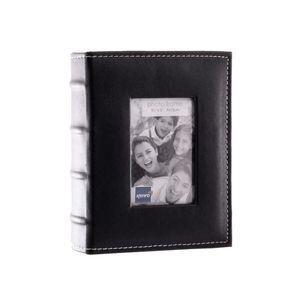 Black Mini Max Black 7.5 x 5 Slip In Photo Album - 80 Photos