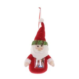 Father Christmas Green Photo Holder