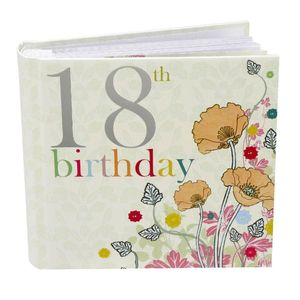 18th Birthday Nouveau Delights 6x4 Slip In Photo Album 80 Photos