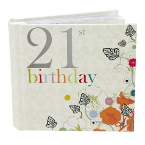 21st Birthday Nouveau Delights 6x4 Slip In Photo Album 80 Photos