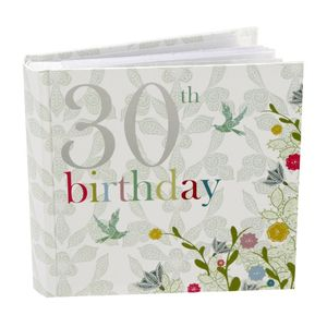 30th Birthday Nouveau Delights 6x4 Slip In Photo Album 80 Photos