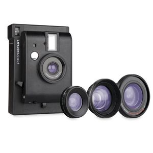 Lomography Lomo'Instant Mini Black Edition Camera with 3 Lenses