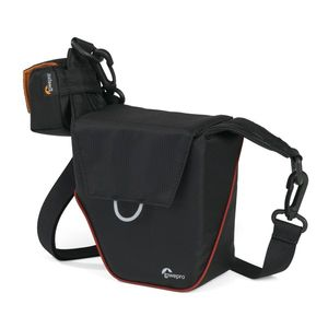 Lowepro Compact Courier 70 Black and Red Shoulder Bag