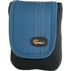 Lowepro Dublin 20 Black and Blue Camera Pouch