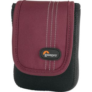 Lowepro Dublin 20 Black and Red Camera Pouch