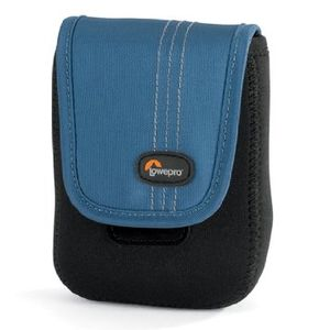 Lowepro Dublin 30 Black and Blue Camera Pouch