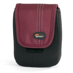 Lowepro Dublin 30 Black and Red Camera Pouch