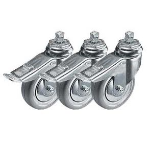 Manfrotto 104 Set of 3 Wheels with Brakes