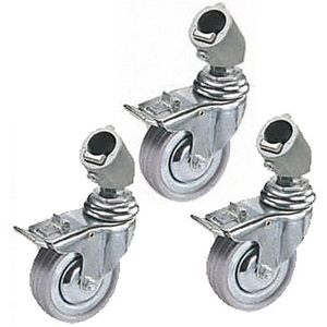 Manfrotto 110 Set of 3 Wheels with Adapters for Light Stand Legs