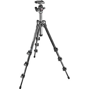 Manfrotto MK293C4-A0RC2 293 Carbon Fibre 4 Section Tripod with QR Ball Head