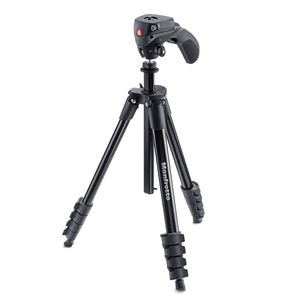 Manfrotto Black Compact Action Tripod