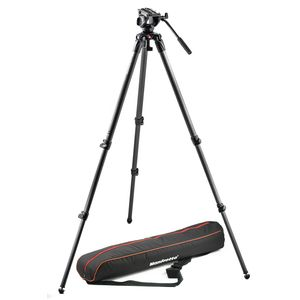 Manfrotto MVK500C Carbon Fibre Tripod with Fluid Video Head Kit