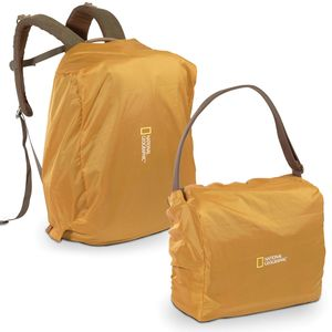 National Geographic Rain Cover for Medium/Slim Satchels and Small Rucksack