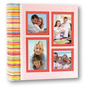 Newport Pink Traditional Wedding Album - 100 Sides