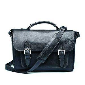 ONA Brooklyn Black Leather Shoulder Bag