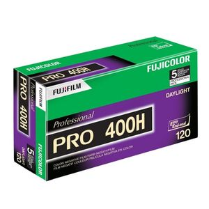 Fujifilm Pro 400H 120 Colour Print Roll Film Pack of 5