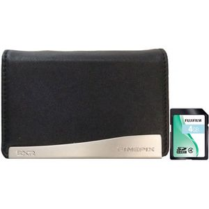 Fujifilm Camera Case and 4GB SDHC Memory Card for F900 / F800EXR