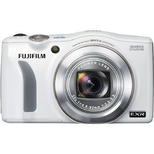 Fujifilm FinePix F770EXR White GPS Digital Camera