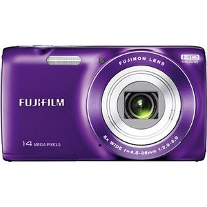 Fujifilm FinePix JZ100 Purple Digital Camera