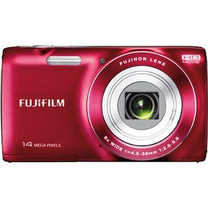 Fujifilm FinePix JZ100 Red Digital Camera
