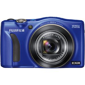 Fujifilm FinePix F770EXR Blue GPS Digital Camera