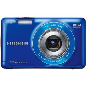 Fujifilm FinePix JX550 Blue Digital Camera