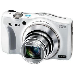 Fujifilm FinePix F800EXR White Digital Camera