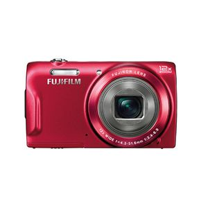 Fujifilm FinePix T500 Red Digital Camera