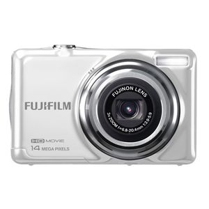 Fujifilm FinePix JV500 White Digital Camera
