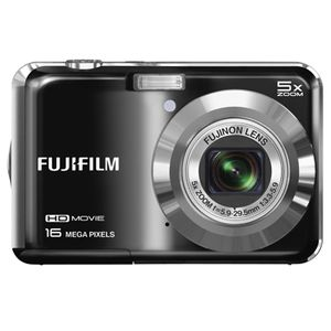 Fujifilm FinePix AX650 Black Digital Camera