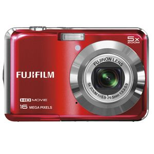Fujifilm FinePix AX650 Red Digital Camera