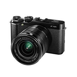 Fujifilm X-M1 Black Compact System Camera and XC 16-50mm Lens Kit