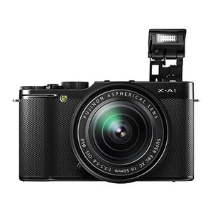 Fujifilm X-A1 Black Compact System Camera with 16-50mm Lens