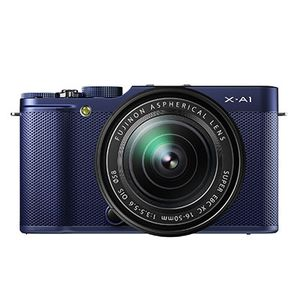 Fujifilm X-A1 Blue Compact System Camera with 16-50mm Lens