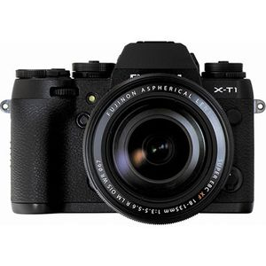 Fujifilm X-T1 Black Digital Camera with 18-135mm Lens