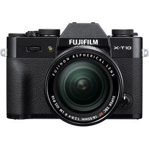 Fujifilm X-T10 Black Digital Camera with 18-55mm XF Lens