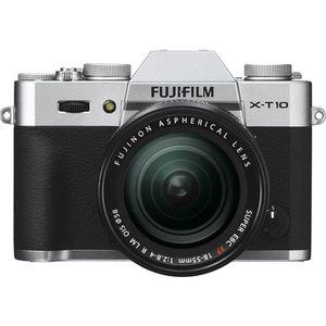 Fujifilm X-T10 Silver Digital Camera with 18-55mm XF Lens